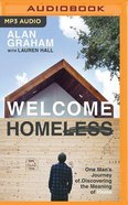Welcome Homeless (Unabridged, Mp3) CD