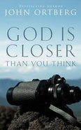 God is Closer Than You Think (Unabridged, 5 Cds) CD