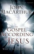 The Gospel According to Jesus: What is Authentic Faith? (Unabridged, 10 Cds) CD