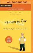 Heaven is For Real: A Little Boy's Astounding Story of His Trip to Heaven and Back (Unabridged Mp3 Cd) CD