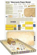 Wall Chart: Tabernacle Paper Model (Unlaminated)
