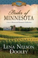 Brides of Minnesota: 3-In-1 Historical Romance (50 States Of Love Series) Paperback
