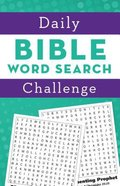Daily Bible Word Search Challenge Paperback