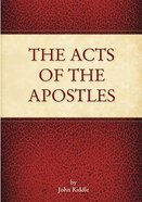 The Acts of the Apostles Paperback
