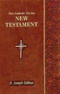 New Catholic Version St. Joseph New Testament Vest Pocket Brown