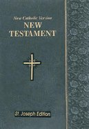 New Catholic Version St. Joseph New Testament Vest Pocket Slate