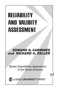 Reliability and Validity Asessment