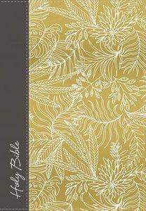NKJV Ultraslim Reference Bible Yellow/White Hardcover