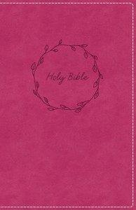 KJV Deluxe Gift Bible Pink Red Letter
