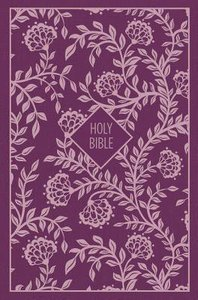 KJV Thinline Bible Compact Purple (Red Letter Edition)