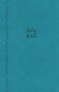 KJV Value Thinline Bible Compact Blue (Red Letter Edition)