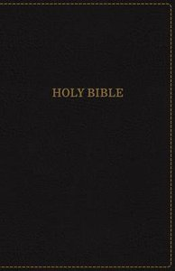 KJV Thinline Bible Large Print Black (Red Letter Edition)