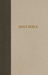 KJV Reference Bible Super Giant Print Green/Tan (Red Letter Edition)