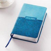 KJV Giant Print Bible Blue Red Letter Edition
