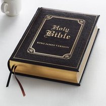 KJV Family Bible Dark Brown (Black Letter Edition)