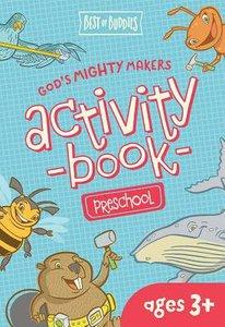 Gods Mighty Makers Preschool Activity Book