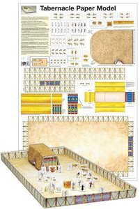 Wall Chart: Tabernacle Paper Model (Laminated)