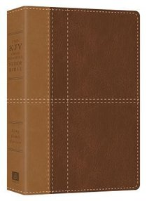 KJV Cross Reference Study Bible Indexed Brown