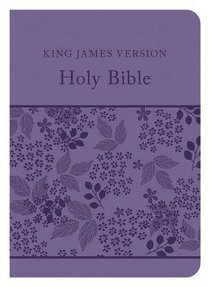 KJV Compact Gift & Award Bible Reference Edition Purple