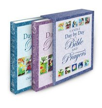Candle Day By Day Bible and Prayers Gift Set