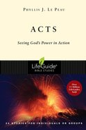 Acts (Lifeguide Bible Study Series)