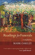 Readings For Funerals Paperback