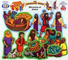 Miracles of Jesus (Beginner's Bible In Felt Series) Flannelgraph