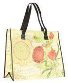 Tote Bag: God is With You (With Black Handles)