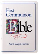 Nab St Joseph First Communion Bible (Boys) Hardback