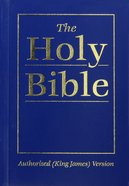 KJV Royal Ruby Holy Bible Compact Blue (Black Letter Edition) Paperback