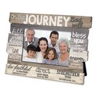 Stacked Wood Frame: On the Journey God Will.... (Various Scriptures) Homeware