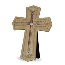 Wall Cross: Word of God Sword (26cm X 18cm)