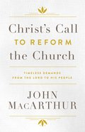 Christ's Call to Reform the Church eAudio