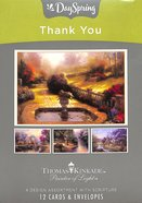 "Boxed Cards Thank You: Thomas Kinkade ""Painter of Light"" Box"