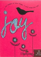 Blank Trend Note: Amylee Weeks Joy (Pink) Stationery