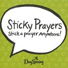 Sticky Prayers: Stick a Prayer Anywhere! (Mixed Scripture) Stationery