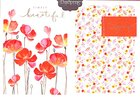 Premium Portfolio: Simply Beautiful (Poppies) Stationery