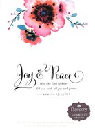 Stationery Set: Joy & Peace (Romans 15:13 Niv) Pack