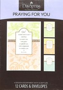 Boxed Cards Praying For You: Watercolor Prayers - Roy Lessin Box