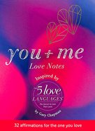 5 Love Languages You + Me Love Notes: 32 Affirmations For the One You Love Stationery