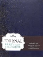 Journal: Points of Light (Navy/gold Durable Faux Leather) Imitation Leather