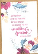 Greeting Card Pack: His Hand, Bright Floral, (1 Thess 1:4) ((In)courage Gift Product Series)