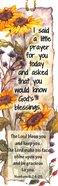 Bookmark With Tassel: I Said a Prayer... (Sunflowers) Stationery
