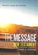 Message Pocket New Testament With Psalms and Proverbs (Black Letter Edition)