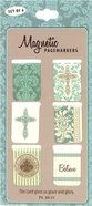 Bookmark Magnetic: Grace & Glory (Set Of 6) Stationery