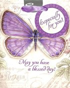 Gift Bag Small: May You Have a Blessed Day Butterfly/Purple Stationery