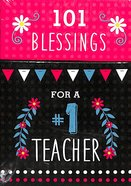 Box of Blessings: 101 Blessings For a #1 Teacher Stationery