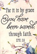 Magnet With a Message: For It is By Grace... Eph 2:8 Novelty