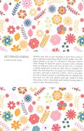 Kids Prayer Journal: 6 Month Weekly Layout (Small Flowers) Paperback