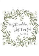 Boxed Cards: Be Still and Know That I Am God (Psalm 46:10) Box